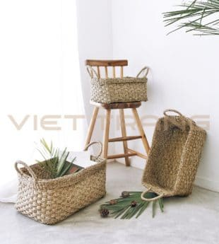 Greenery Natural Fiber Basket 16