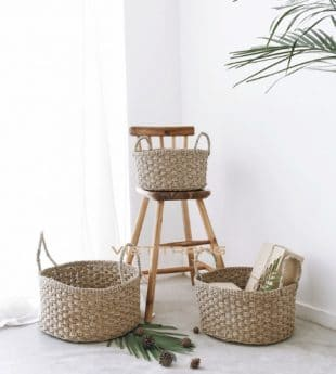 Greenery Seagrass Basket Planter 13 Wholesale
