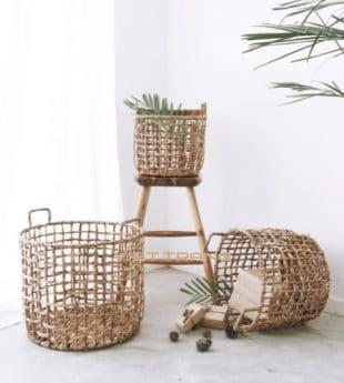 [Best Selling] Greenery Seagrass Storage Basket 21