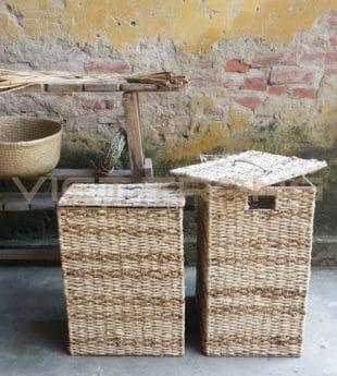 Mekong River Handmade Laundry Basket 01