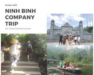 Viet Trang Craft Team in Bai Dinh Pagoda