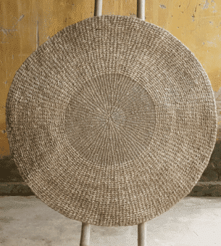 Mekong River Round Seagrass Rug 04