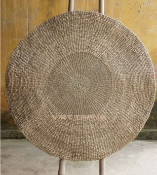 [Best Selling] Mekong River Seagrass Rug Round 04