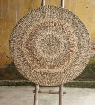 [Best Selling] Mekong River Seagrass Rug Round 07