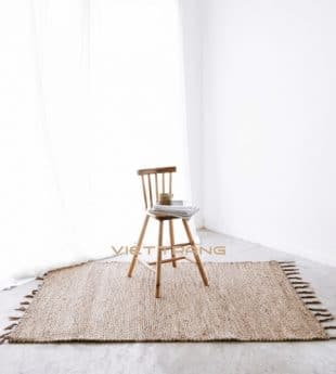 [Best Selling] Paddle Field Water Hyacinth Area Rug 09