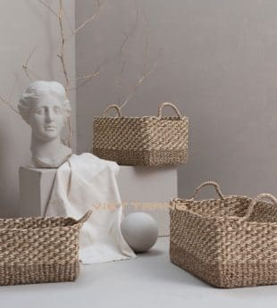 The Studio Seagrass Hamper Basket 11 Wholesale