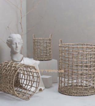 The Studio Seagrass Storage Basket 09 Wholesale