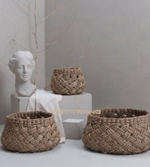 [Best Selling] The Studio Woven Seagrass Basket 26