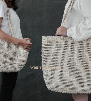 [Best Selling] Wovenery Palm Leaf Beach Bag 02