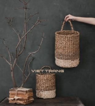 [Best Selling] Wovenery Seagrass Basket Handles 14