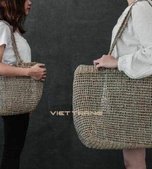 [Best Selling] Wovenery Seagrass Beach Bag 03