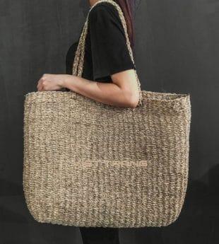 [Best Selling] Wovenery Seagrass Beach Bag 08