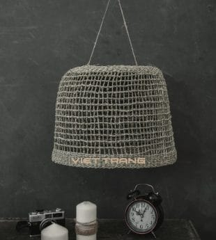 [Best Selling] Wovenery Seagrass Lampshade 03