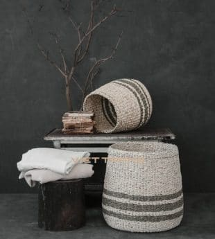 [Best Selling] Wovenery Seagrass Laundry Basket 01
