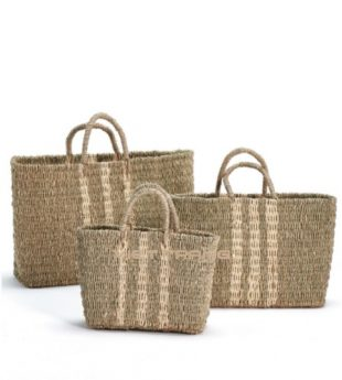 Oasis Palm Leaf Beach Bag 01 Wholesale