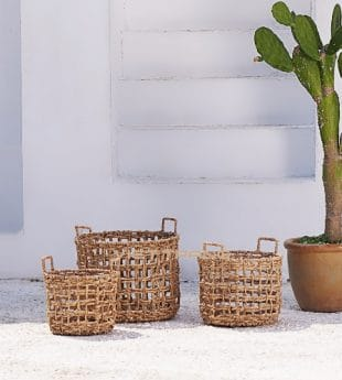 [New-in] Oasis Seagrass Laundry Basket With Handles 09