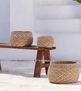 Oasis Seagrass Storage Basket 13 Wholesale