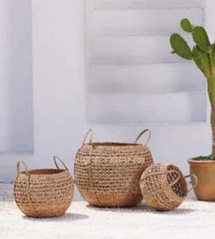 [New-in] Oasis Woven Seagrass Basket 07