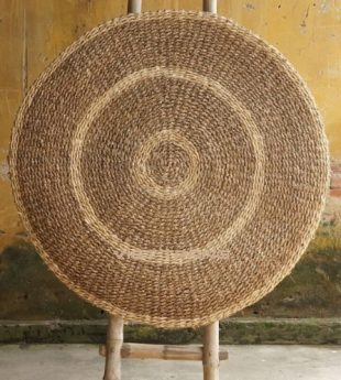 Mekong River Seagrass Round Rug 16 Wholesale