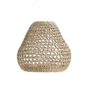 Oasis Woven Seagrass Lampshade 04 Wholesale