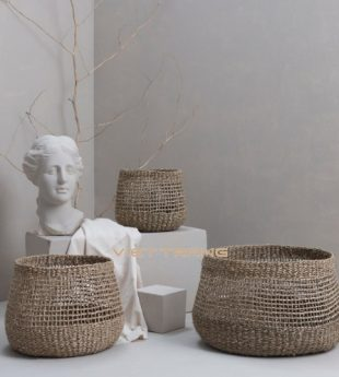 The Studio Seagrass Storage Basket 29 Wholesale
