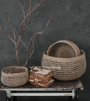 Wovenery Seagrass Storage Basket 18 Wholesale