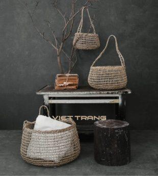 Wovenery Seagrass Storage Basket 23 Wholesale